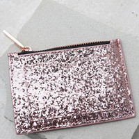 Skinnydip London Dita Rose Gold Glitter Coin Purse