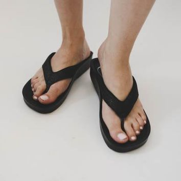 Sparkle Sandal - Black