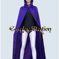 Teen Titans Cosplay Raven Costume:Teen Titans Cosplay Raven Costume