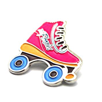 The Official Floozies 'Roller Skate' Pin