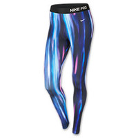 Women's Nike Pro Hyperwarm Printed Tights