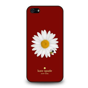 KATE SPADE FLOWER AND BEE iPhone 5 / 5S / SE Case