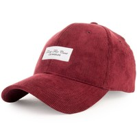 Twenty-Four Carat Corduroy Dad Cap in Maroon