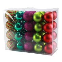 St. Nicholas Square 40-piece Christmas Ball Ornament Set