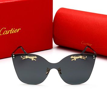 "Hot Sale ""Cartier"" Fashion Ladies Men Personality Sun Shades Eyeglasses Glasses Sunglasses"