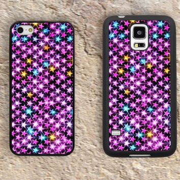 Bling Star iPhone Case-iPhone 5/5S Case,iPhone 4/4S Case,iPhone 5c Cases,Iphone 6 case,iPhone 6 plus cases,Samsung Galaxy S3/S4/S5-188