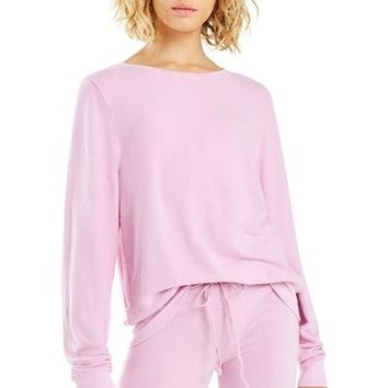 Baggy Beach Jumper | Orchid