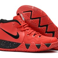 Nike Kyrie Irving 4 IV Red/Black Sport Shoes US7-12