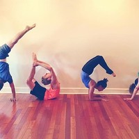 One or Two Months of Yoga Classes or Five Morning Classes at Red Yoga (Up to 74% Off)