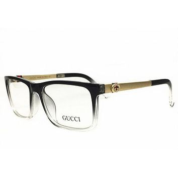 Gucci Stylish Ladies Simple Optical Clear Lens Fashion Brand Designer Eyeglasses Glasses I