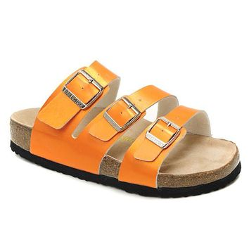 Birkenstock Orlando Sandals Artificial Leather Jacinth - Ready Stock