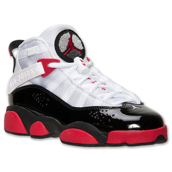 Girls' Grade School Jordan 6 Rings Basketball Shoes