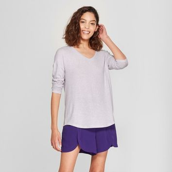 Women's Long Sleeve Cozy Knit Top- A New Day™