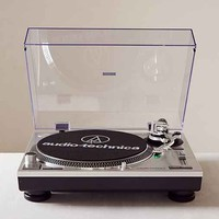 Audio Technica AT-LP120USB Vinyl Record Player- Silver One