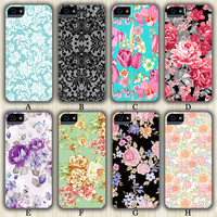 Floral Design Casebattle iPhone 6/5S/5C/5/4S/4 Wrap Case and Tough Case
