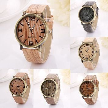 Wood Grain Fashion Watches(Free Shipping Today)