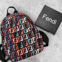 FENDI Sport Travel Bag Shoulder Bag School Backpack