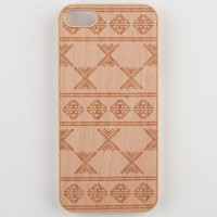 Tribal Etched Wood Iphone 5 Case Wood One Size For Men 23983746101