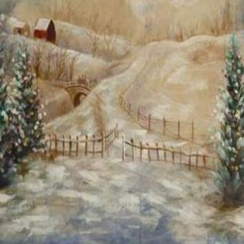 SCENIC MUSLIN PHOTO BACKDROP HAND PAINTED - LCMSS8830 - 10x20 - LAST CALL