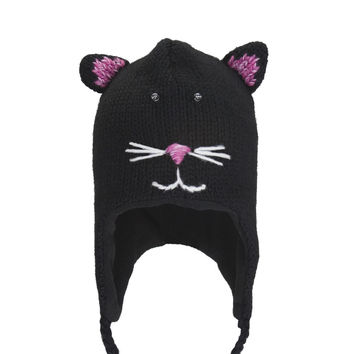 Kiki The Kitty Peruvian Knit Hat