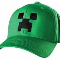 Minecraft Hat -  Creeper Youth