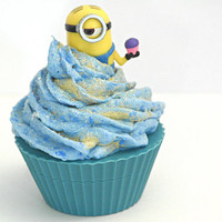 #Despicable Me #Minion #Cupcake #Soap/ Scented Apple Jack & Peel