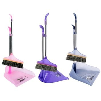 Shipping from USAMyonly Rubbermaid Comfort Grip Duster and Dustpan Set Fashion Broom Cleaning Dustpans Set