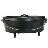 Lodge 8 qt. Cast Iron Camp Dutch Oven