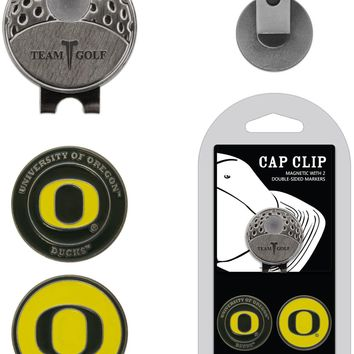 NCAA Oregon Ducks Hat Clip & 2 Magnetic Golf Ball Markers