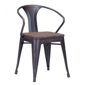 Helio Dining Chair | Rusty Elm Wood