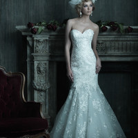 Allure Couture C205 Lace Mermaid Wedding Dress