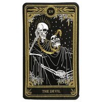 """The Devil"" Large Embroidered Back Patch– Amrit Brar"