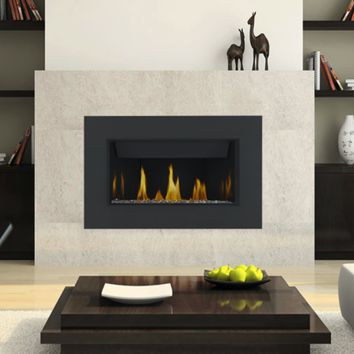 "Napoleon Linear BL36 Direct Vent 36"" Electronic Ignition Fireplace with Surround"