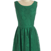 ModCloth Mid-length A-line Chance for Cheer Dress