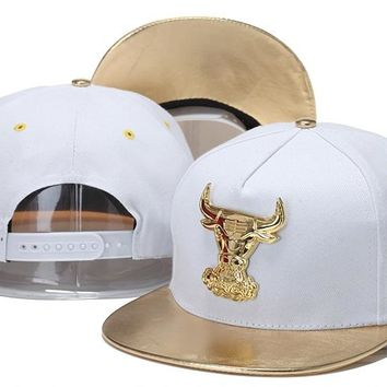 Chicago Bulls Nba Cap Snapback Hat - Ready Stock
