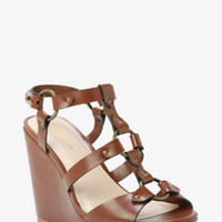 Strappy Wedge Sandals (Wide Width)