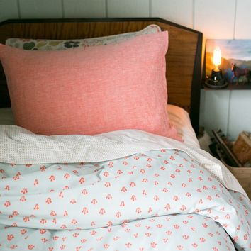 Poppy Linen Pillow Sham