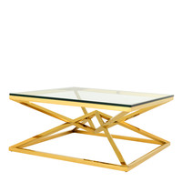 Eichholtz Connor Coffee Table - Gold