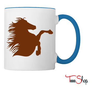 brumby right rearing Coffee & Tea Mug
