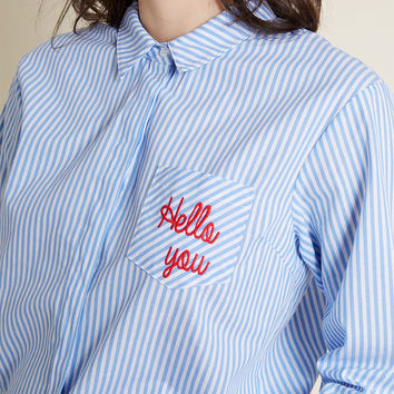 Sugarhill Boutique Monday Motivation Button-Up Top