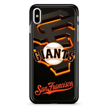 San Francisco Giants Logo iPhone X Case