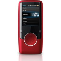 Coby MP620 4 GB Video MP3 Player with FM Radio (Red)