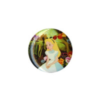 Disney Alice In Wonderland Flowers Pin