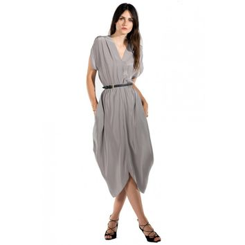 Myne Heidi Dress in Slate Grey