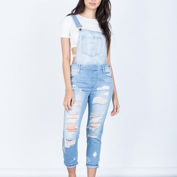 Ashley Denim Overalls