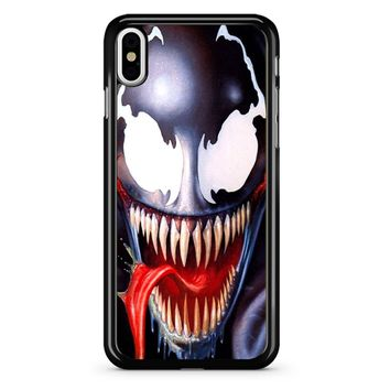 Venom Spiderman iPhone X Case