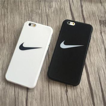 Perfect NIKE Popular Print iPhone 6 6s 6Plus 6sPlus 7 7 Plus Phone Cover Case