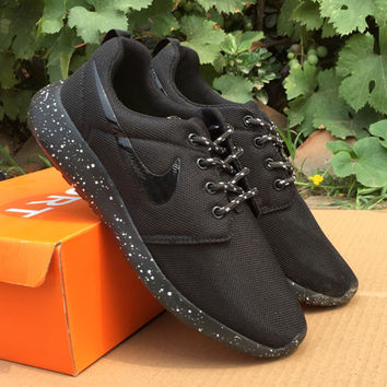 low priced efdab 6c666 NIKE Women Men Running Sport Casual Shoes Sneakers Pure black starry sky  soles