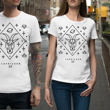 Capricorn AF Sign Unisex Shirt