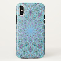 Boho-romantic colored mandala ornament arabesque iPhone x case